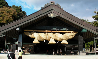 Shimenawa en Izumo